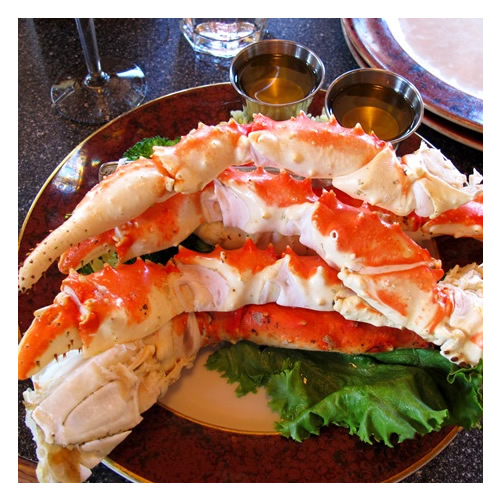 Cooked King Crab large sets x 1kgs