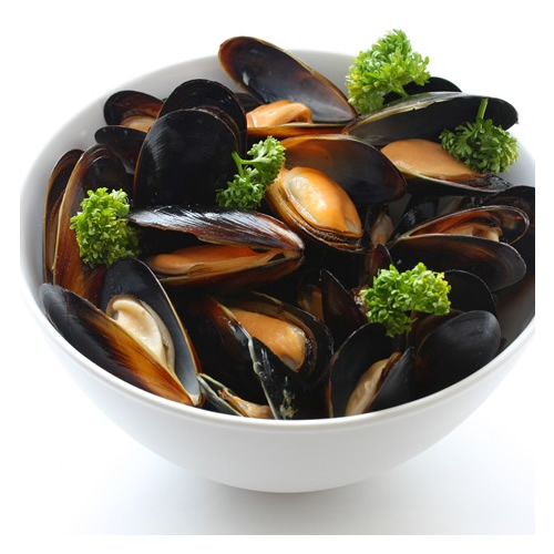 how to cook frozen mussels with shell