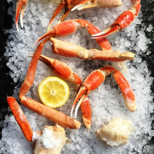 Cooked Snow Crab broken pieces x 1kg